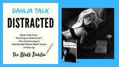 book blog, book discussion, rushing to distraction the blakk dahlia
