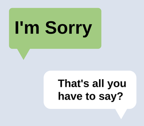 text message, im sorry, dating blogs