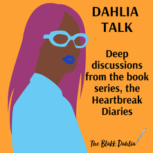 book blogs for the heartbreak diaries book series, the blakk dahlia