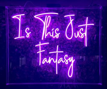 fantasy, neon lights, dating blogs
