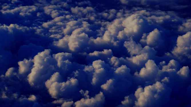 clouds, flying, above the clouds, in the air