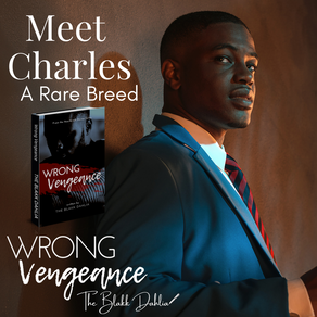 Wrong Vengeance book by The Blakk Dahlia, retro african american businessman, meet charles, romance books