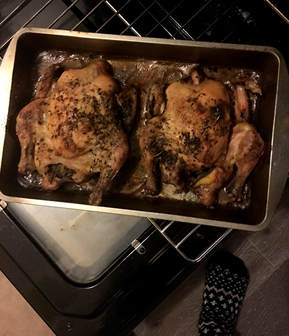 thanksgiving Cornish hens
