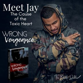Wrong Vengeance book, Meet Jay, written by The Blakk Dahlia